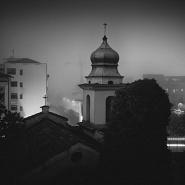 ITALIA: Benevento during the night