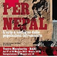 + per il NEPAL (L'ARTE A SOSTEGNO DELLE POPOLAZIONI TERREMOTATE)