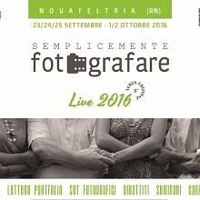 """Personale e Collettiva in """"semplicemente Fotografare Live 2016"""""""
