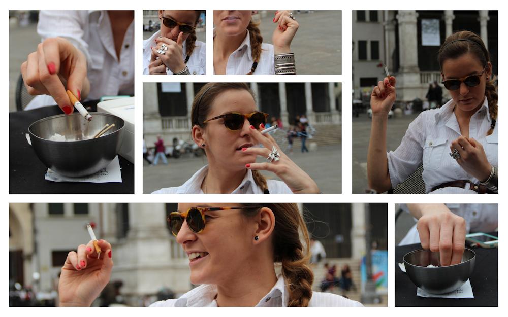 Smoking gestures