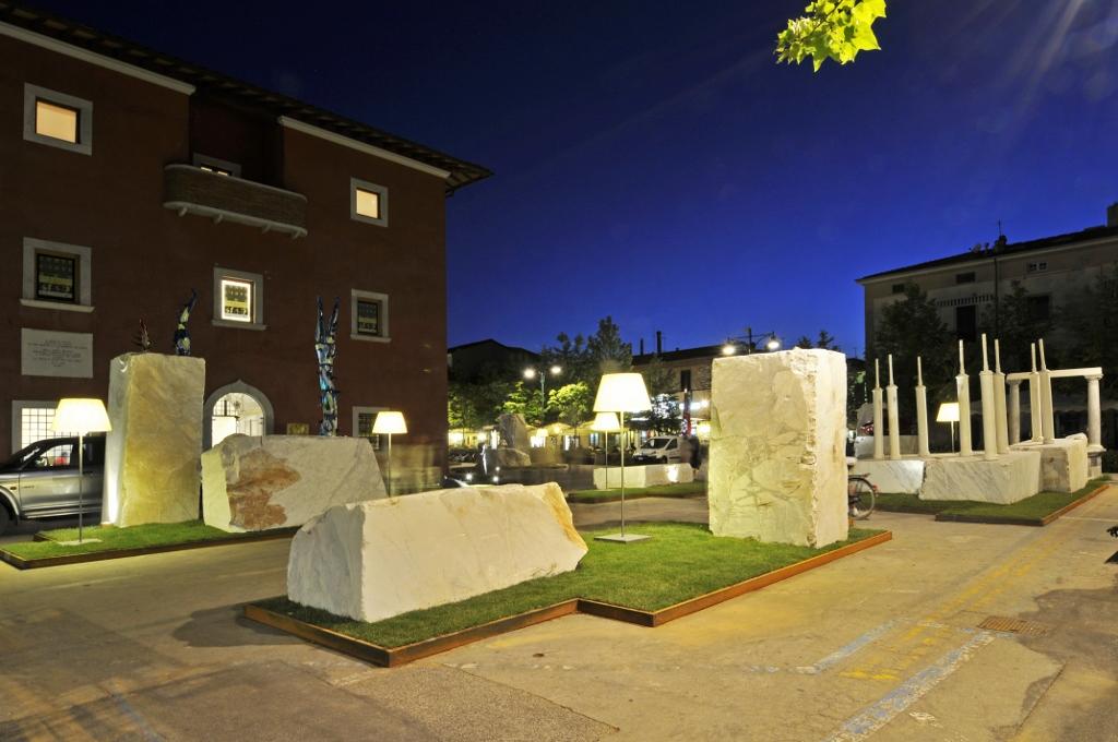 FORTE 2010 VS - Installazione Piazza Garibaldi, Forte dei Marmi